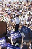 US Senator Barack Obama Stock Photo