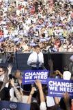 US Senator Barack Obama Stock Images