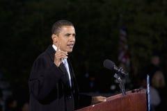 Us-Senator Barack Obama Royaltyfria Foton
