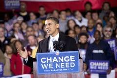 US Senator Barack Obama Stock Photos