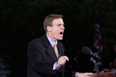 US Senator Mark Warner Stock Photo