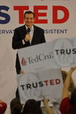 US Senator Ted Cruz Campaigns in Las Vegas before Republican Nevada Caucus Stock Photos