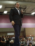 US Senator Ted Cruz Campaigns in Las Vegas before Republican Nevada Caucus Stock Image