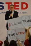 US Senator Ted Cruz Campaigns in Las Vegas before Republican Nevada Caucus Stock Image