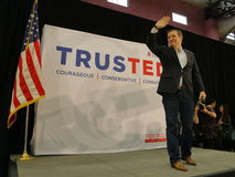 US Senator Ted Cruz Campaigns in Las Vegas before Republican Nevada Caucus Royalty Free Stock Photos
