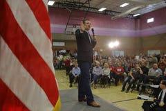 US Senator Ted Cruz Campaigns in Las Vegas vor republikanischer Nevada Caucus Stockfotografie