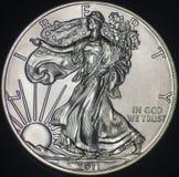 US-Silber Eagle Coin (Gegenstücck) Stockfoto