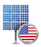 US solar panel Stock Photography