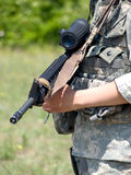 US-Soldat Stockbild