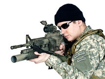 US soldier Stock Images