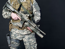 US soldier Royalty Free Stock Photo