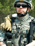 US soldier Stock Photography