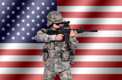 US soldier Royalty Free Stock Photography