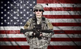 US soldier Royalty Free Stock Photos