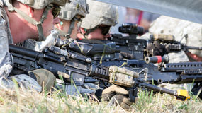 US soldiers Royalty Free Stock Photo