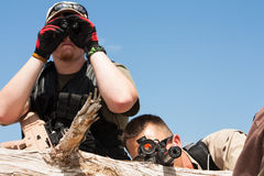 US special ops team Royalty Free Stock Image