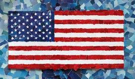 US-Staatsflagge Lizenzfreies Stockfoto