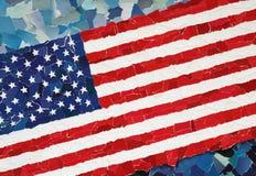 US-Staatsflagge Stockfotografie