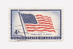 Us Stamp Royalty Free Stock Photos