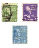 US Stamps Stock Photos