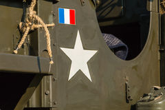Us star army close-up Stock Photo