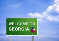 US State of Georgia Stock Photo
