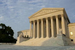 US Supreme Court. At sunset. Summer 2010 Royalty Free Stock Photography