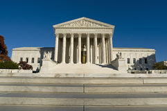 US Supreme Court. The front of the US Supreme Court in Washington, DC Stock Images