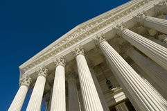 US Supreme Court. The front of the US Supreme Court in Washington, DC Royalty Free Stock Images