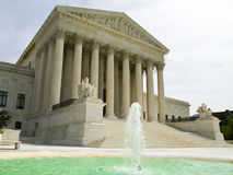 US Supreme Court. Portrait of the US Supreme Court in Washington DC Stock Photo