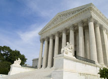 US Supreme Court. The US Supreme Court in Washington DC Royalty Free Stock Photography