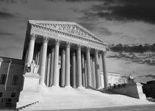 US Supreme Court Black and White Stock Photo