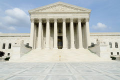 US Supreme Court building. In Washington DC Royalty Free Stock Images