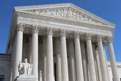 US Supreme Court Building. In Washingon DC Royalty Free Stock Photo