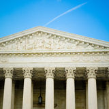 US Supreme Court Building Detail Royalty Free Stock Image