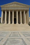 US Supreme Court building, Washington, DC. US Supreme Court building entrance, Washington, DC Royalty Free Stock Image
