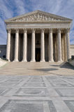 US Supreme Court Building in Washington DC Royalty Free Stock Photography
