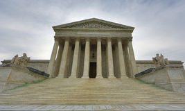 US Supreme Court Building Royalty Free Stock Photos