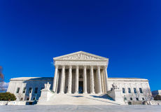 US Supreme Court Building Royalty Free Stock Image