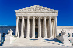 US Supreme Court Building Stock Photography
