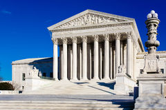 US Supreme Court Building Royalty Free Stock Images