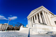 US Supreme Court Building Royalty Free Stock Photography