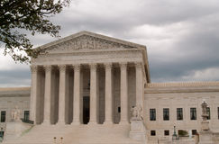 US Supreme Court Building in Washington DC Royalty Free Stock Image