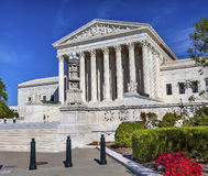 US Supreme Court Capitol Hill Daytime Washington DC Stock Photography