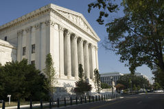 US Supreme Court - Eastern Facade Royalty Free Stock Photography