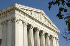 US Supreme Court - Eastern Facade Royalty Free Stock Images