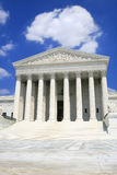 US Supreme Court, Front, Wide Angle royalty free stock image
