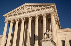 US Supreme Court with LEX royalty free stock images