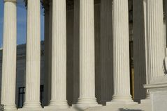 US Supreme Court in Washington DC Royalty Free Stock Image