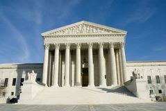 US Supreme Court in Washington DC Stock Image